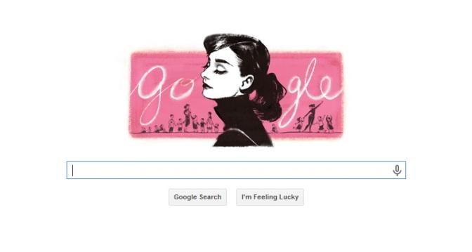 Google celebrates Audrey Hepburn's 85th birthday
